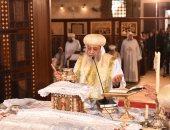 البابا تواضروس:الرئيس السيسى يبذل مجهودات كبيرة من أجل التنمية ووحدة المصرىين