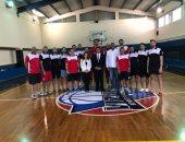 سفير مصر فى بلجراد يلتقى منتخب كرة السلة بالمعسكر التدريبى بصربيا
