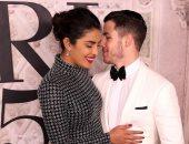 بريانكا شوبرا ونيك جوناس ثنائى رومانسى مميز بعرض Ralph Lauren فى نيويورك