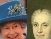 يخلق من الرسمة بنى آدمين.. مشاهير يشبهون أجدادهم المرسومين فى لوحات فنية