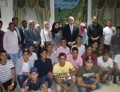صور.. محافظ جنوب سيناء يلتقى أبناء الشهداء بمحافظتى شمال وجنوب سيناء