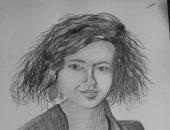 طفلة عمرها 13 عاما تشارك اليوم السابع بموهبتها وتحلم بالفنون الجميلة