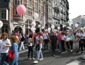 صور.. نساء بلجيكا تتظاهرن للمطالبة بحقوقهن فى إجهاض الأطفال