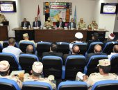 صور.. محافظ الإسكندرية يترأس برنامج إدارة الأزمات والكوارث بالمحافظة