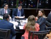 سحر نصر تلتقى بعثة البنك الدولى.. ووعود بـ1 مليار دولار لدعم تنمية سيناء