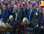 الرئيس السيسى يعلن إطلاق مسابقة لتطوير الطرق.. ويوجه بالقضاء على المطبات