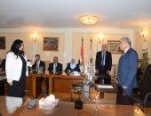 6 من قيادات وزارة التموين يؤدون اليمين أمام الوزير