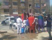 """صور.. """"أمن القاهرة"""" يطارد الإشغالات.. ويضبط 37 بائعا و14 عربة مأكولات"""