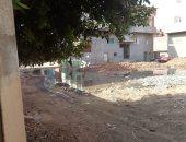 قارئ يشكو من انفجار ماسورة صرف فى شوارع قرية سنبو الكبرى بالغربية
