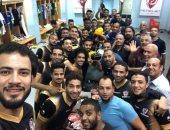 لاعبو بتروجت يحتفلون بعيد ميلاد طارق يحيى