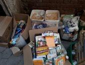 صور.. شرطة التموين تضبط مخزن مواد غذائية منتهية الصلاحية بحدائق القبة