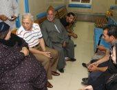 محافظ المنوفية يتفقد مستشفى الرمد بشبين الكوم
