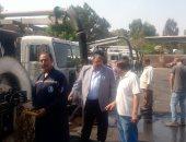 رئيس شركة صرف القاهرة يجرى بيان عملى استعدادا للأمطار