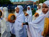 احتفالات طلاب إندونيسيا بالعام الهجرى الجديد