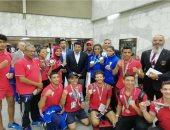 منتخب مصر للسباحة يحصل على ذهبية وفضية فى منافسات بطولة إفريقيا