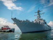 صور.. قائد الأسطول الأمريكى يأمر بمغادرة السفن البحرية خوفاً من إعصار فلورنس