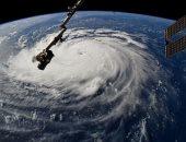 شاهد.. أول فيديو لإعصار فلورانس من الفضاء