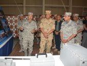استمرار فاعليات تدريبات النجم الساطع 2018 بقاعدة محمد نجيب العسكرية