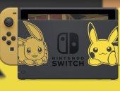 نينتندو تكشف عن نسخة خاصة من Switch مستوحاة من لعبة بوكيمون جو