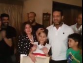 فيديو.. شاهد أحمد مرتضى منصور يحتفل بعيد ميلاده فى جو عائلى