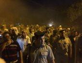 أهالى مركز مغاغة بالمنيا يودعون شهيد الوطن فى سيناء
