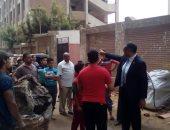 رئيس مدينة شبرا الخيمة يتفقد عدد من المدارس استعدادًا للعام الدراسى