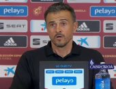 لويس إنريكى: لست مهتما بتفضيل لاعبى ريال مدريد وبرشلونة فى منتخب إسبانيا