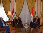 وزير الخارجية يؤكد لنظيره العراقى دعم مصر الكامل لاستقرار العراق وسلامته.. فيديو