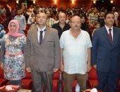 """نائب محافظ بورسعيد يشهد العرض المسرحى """"أمر تكليف"""""""