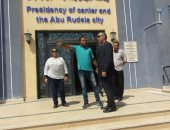 صور.. تركيب 45 كاميرا مراقبة بالوحدة المحلية لمدينة أبو رديس