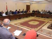 صور.. محافظ بنى سويف يستعرض موقف تنفيذ مشروعات قطاع الصرف الصحى
