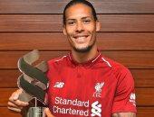 فان ديك يفوز بجائزة لاعب الشهر فى ليفربول للمرة الأولى
