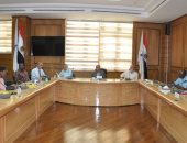 مجلس عمداء جامعة كفر الشيخ يناقش الاستعدادات للعام الدراسى الجديد