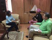 وزيرة الهجرة تبحث مع النائبة جهاد إبراهيم نشر برامج تدريبية لبناء وتنمية الإنسان