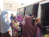 فحص 362 حالة فى قافلة سكانية علاجية ببنى سويف