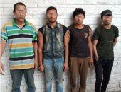 القبض على 4 عاطلين لاستغلالهم الأطفال فى التسول وبيع المخدرات