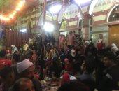 """فيديو وصور.. أهالى أسيوط يحتفلون بالليلة الختامية لمولد """"جلال الدين السيوطى"""""""