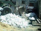 إزالة 41 حالة تعد على الأراضى الزراعية وأملاك الدولة بـ7 مراكز بسوهاج