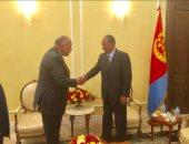 الخارجية: الرئيس الإريترى يؤكد على محورية دور مصر فى منطقة القرن الأفريقى