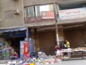 صور.. احتلال الأرصفة والانتظار المخالف يوقفان حركة المرور بشارع شبرا