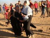 إصابة 8 فلسطينيين جراء قمع الاحتلال الإسرائيلى لمسيرة العودة شرق غزة