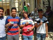 صور.. الاتحاد يوزع بطاقات المشجعين ويطرح تذاكر مواجهة الإنتاج