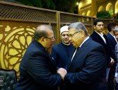رئيس البرلمان ووزراء وسياسيون وإعلاميون فى عزاء شقيقة حسن راتب بالحامدية الشاذلية