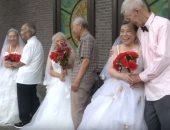 شاهد.. فالنتين للمسنين بمناسبة عيد الحب فى الصين