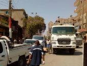 محافظ المنيا يقود حملة مكبرة لإزالة الاشغالات بحى غرب المدينة