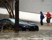 """شاهد.. 10 ملايين أمريكى مهددون بسبب إعصار """"فلورانس"""""""