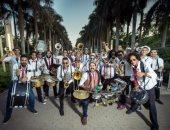 """فرقة """"أوسكاريزما"""" تقدم وصلة مزيكا مبهجة فى ساقية الصاوى"""