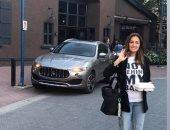 فيديو وصور.. حلا شيحة فى نزهة مع أطفالها وزوجها فى كندا