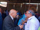 رئيس مدينة بنى سويف يعد دراسة تطوير مزلقانى الغمراوى ومحى الدين