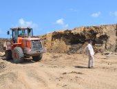 صور..بدء العد التنازلى لإنشاء مصنعى استخراج المعادن من الرمال السوداء